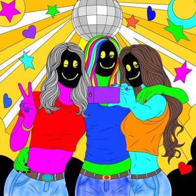 Good Time Girls   Bekkie   Digital Drawing   PENUP