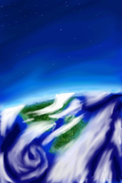 our planet's surface  | Amirflash | Digital Drawing | PENUP