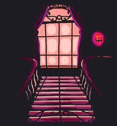 STÃÏRS Of a creepy house   Charl179   Digital Drawing   PENUP