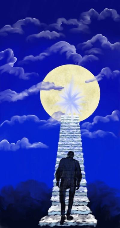 cloudy Stair to Heaven | sherlock | Digital Drawing | PENUP