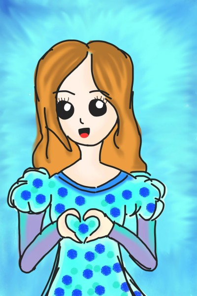 CUTE GIRL 2 | HANAZ_JUHARI | Digital Drawing | PENUP