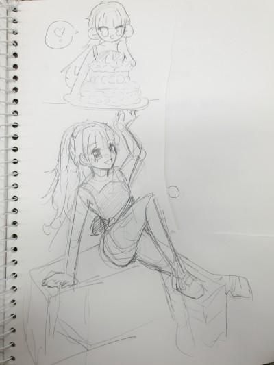 지우개 안쓰고 그리기~~   SILVER_BIN   Digital Drawing   PENUP