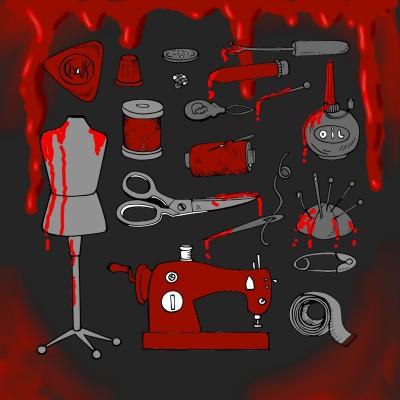 bloody stich | J-O-C | Digital Drawing | PENUP
