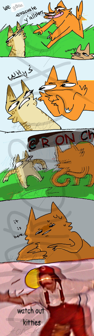The real reason why the cats moved to da Lake   _Horcrux_   Digital Drawing   PENUP