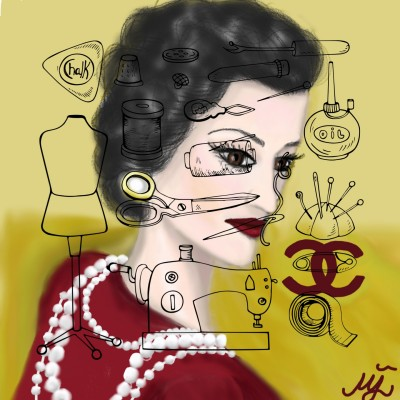 COCO CHANEL | mjalkan | Digital Drawing | PENUP