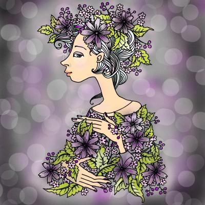 Purple Haze | NurseLisa0517 | Digital Drawing | PENUP