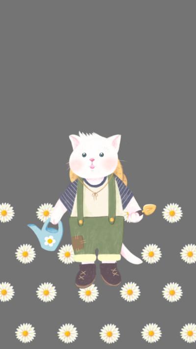 Gardener cat   greeda   Digital Drawing   PENUP