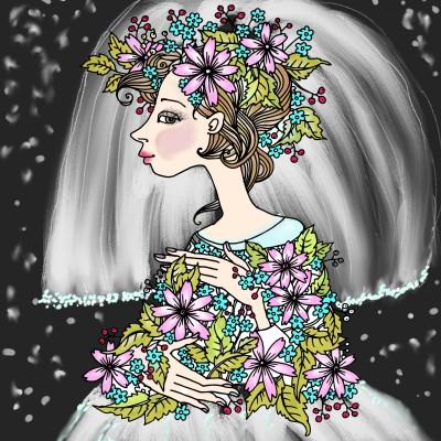 bride  | luda | Digital Drawing | PENUP