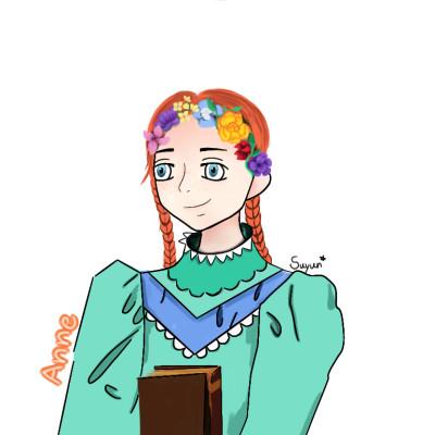 Anne with an e  빨간머리앤  | suyun | Digital Drawing | PENUP