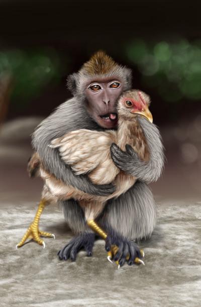 Bad monkey XD | i.mary | Digital Drawing | PENUP