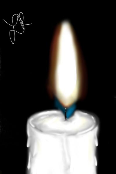 candle | ik544 | Digital Drawing | PENUP