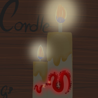 the candle | GIULIA | Digital Drawing | PENUP