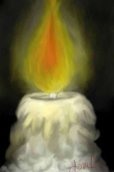 Burning Bright | JennD | Digital Drawing | PENUP
