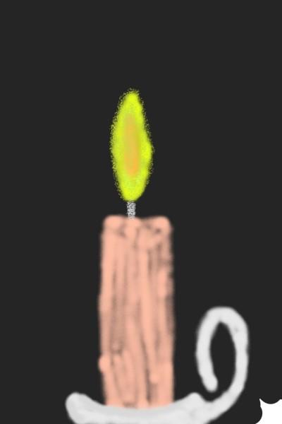 Eine Kerze | JulianNote10 | Digital Drawing | PENUP