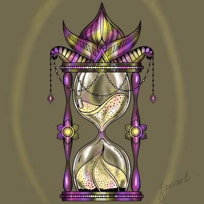 Hourglass | jenart | Digital Drawing | PENUP