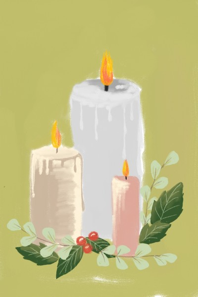 candles  | waheedaadam | Digital Drawing | PENUP