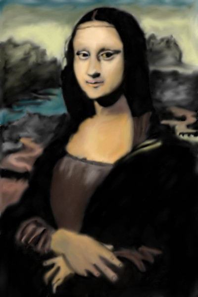 Mona Lisa | Mark349 | Digital Drawing | PENUP