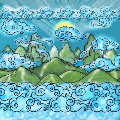 Dream land!! | Sylvia | Digital Drawing | PENUP
