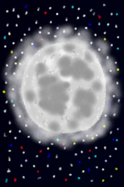 Let's draw Moon | Drozd | Digital Drawing | PENUP