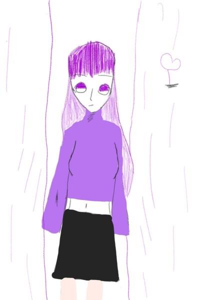 크흠 보라비가 내리는 거리(마코 재제출) | juunaa | Digital Drawing | PENUP