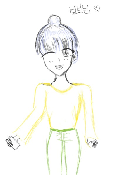 일단 정말 죄송하구요 이거 열심히 그렸습니당....하핳 늦어서 죄송해요ㅠㅠ   risona   Digital Drawing   PENUP