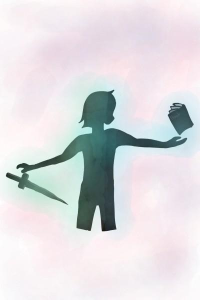 칼과책 | dmshkun | Digital Drawing | PENUP