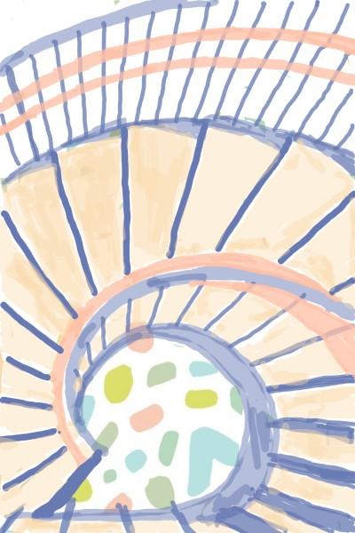 Escada Caracol | Miss_Panta | Digital Drawing | PENUP