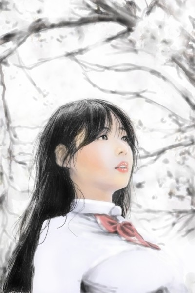 Character Digital Drawing | TIGERNIX | PENUP