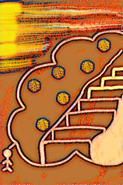 dont think  : step on the ladder | sss | Digital Drawing | PENUP