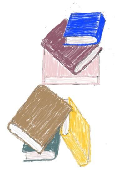Stair Books | Rhonda | Digital Drawing | PENUP
