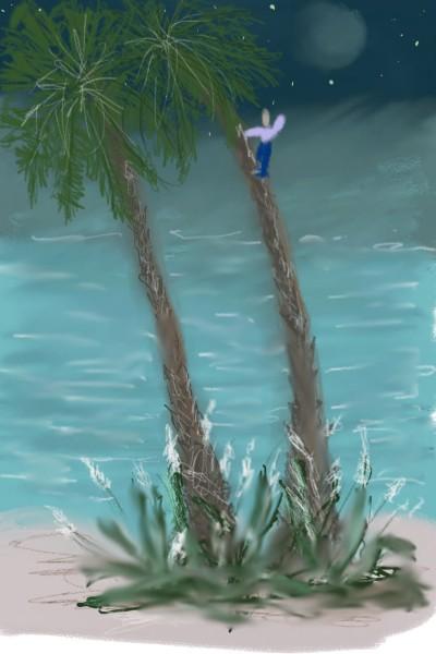 Palmstairs | Rhonda | Digital Drawing | PENUP