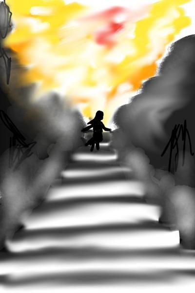 #lets draw #stair | Palak_arts | Digital Drawing | PENUP
