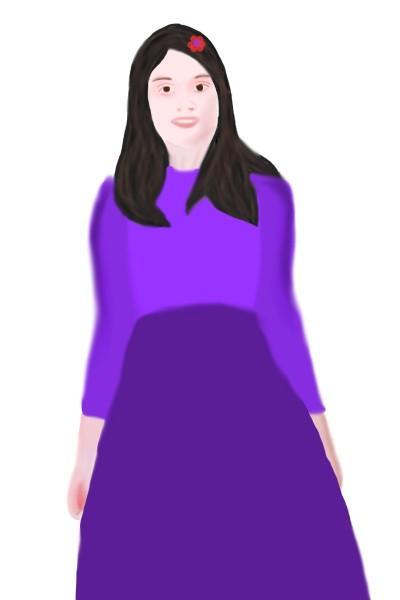 Portrait Digital Drawing | srijani | PENUP