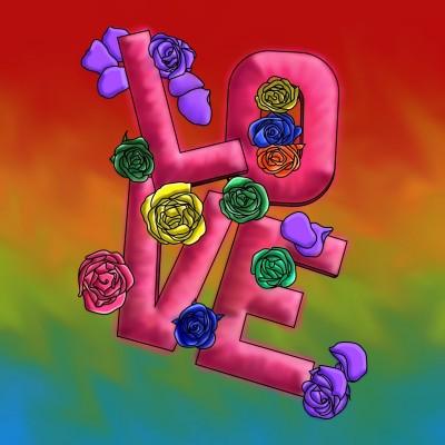 Love & Flowers | BeanaKing13 | Digital Drawing | PENUP