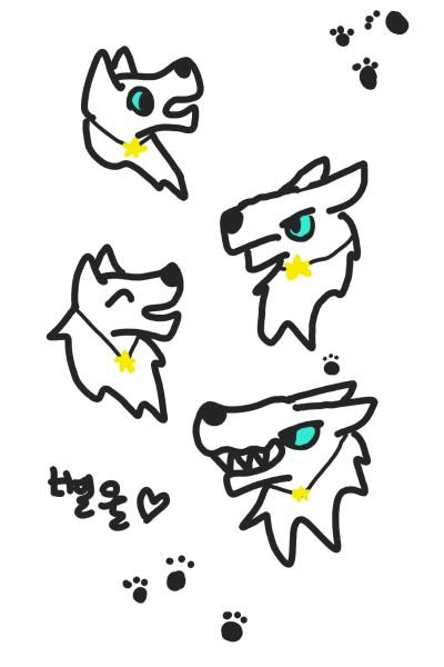 별울♡   wolf_Queen   Digital Drawing   PENUP