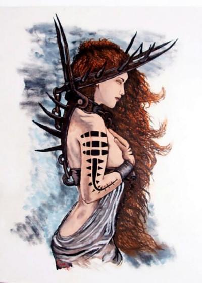 captive warrior | ifeyecouldpaint | Digital Drawing | PENUP