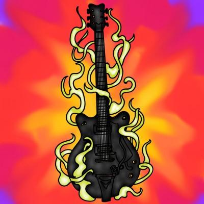 Guitar  | tashapreisner | Digital Drawing | PENUP