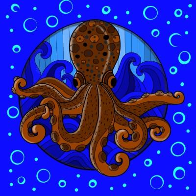 An Octopuses Garden | Bekkie | Digital Drawing | PENUP