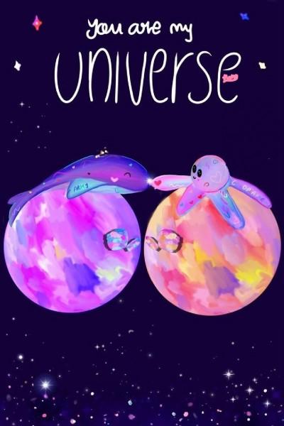 you are my universe(it was to hard)♡♡♡☆~^^°   Bonbonita   Digital Drawing   PENUP