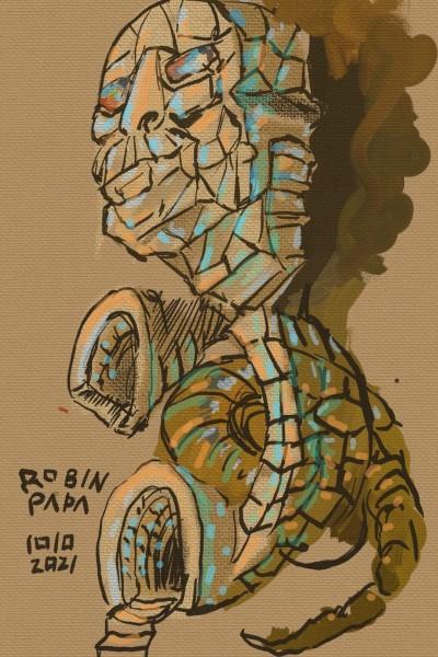 Pharaoh & Egypt & Brown | RobinPAPA | Digital Drawing | PENUP