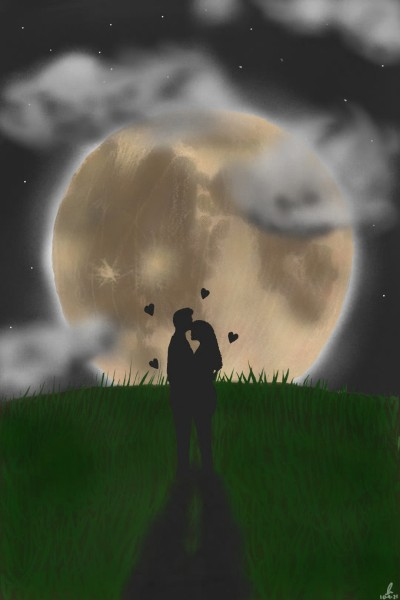 Love Under The Moonlight | Lucky | Digital Drawing | PENUP