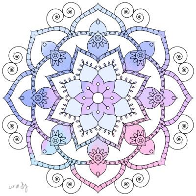 Coloring Digital Drawing   _windy   PENUP