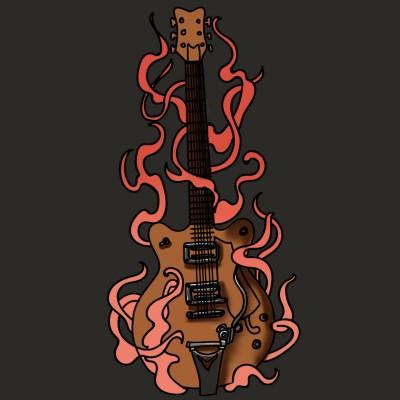 a guitar   yujin1014   Digital Drawing   PENUP