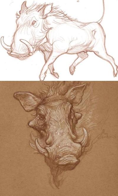 wild pigs   I_love_Avengers   Digital Drawing   PENUP