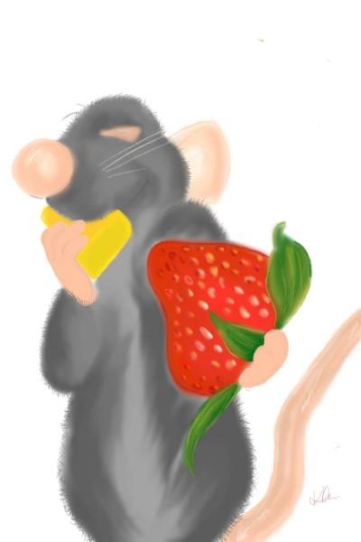 strawberry & cheese   kimlfc   Digital Drawing   PENUP