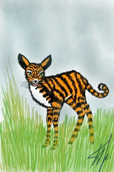 tiger style for sherlock | Natasha | Digital Drawing | PENUP