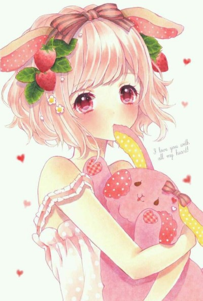strawberry girl | lily | Digital Drawing | PENUP
