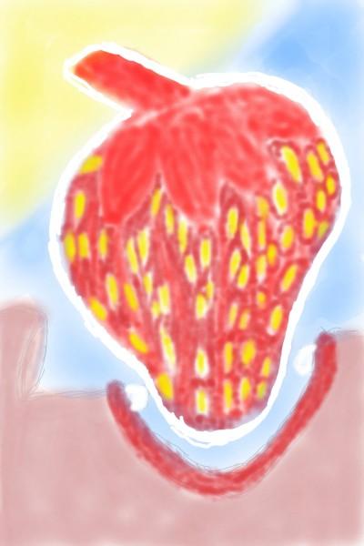 Erdbeere | Aufderhoehe | Digital Drawing | PENUP