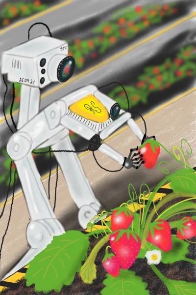 Strawberry Farm Robotics inc. | Karim543 | Digital Drawing | PENUP