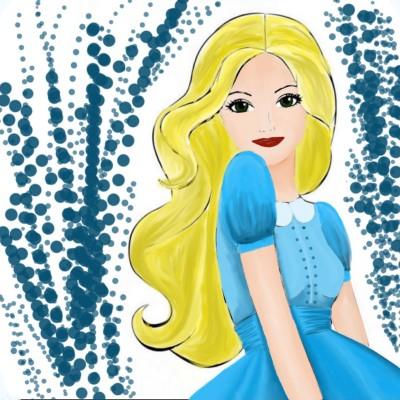Teenie in Blue collab with Hina♡♡♡ | sherlock | Digital Drawing | PENUP